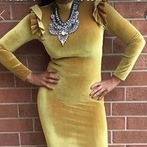 Dresses & Skirts - VELVET DRESS-NWT